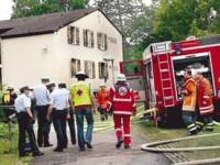 Hier auf dem Hangweide-Gelände in Stetten hat es am Samstag gebrannt.